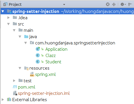 Talking more about Setter Injection in Spring using XML file