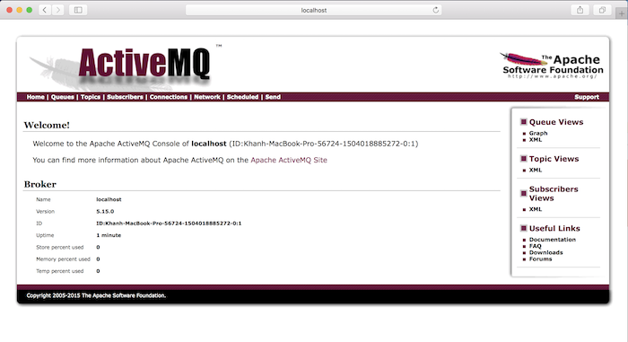 Add new Queue in ActiveMQ