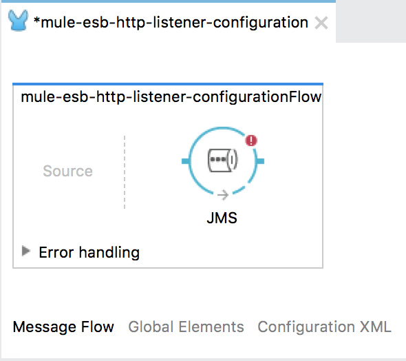 Configure JMS Endpoint for ActiveMQ in Anypoint Studio