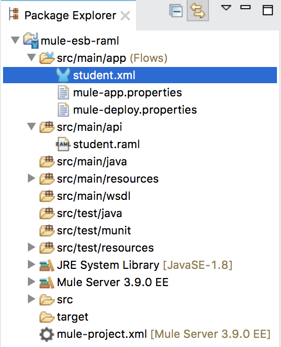 Create RESTful Web Service using RAML and APIkit Router in Mule ESB