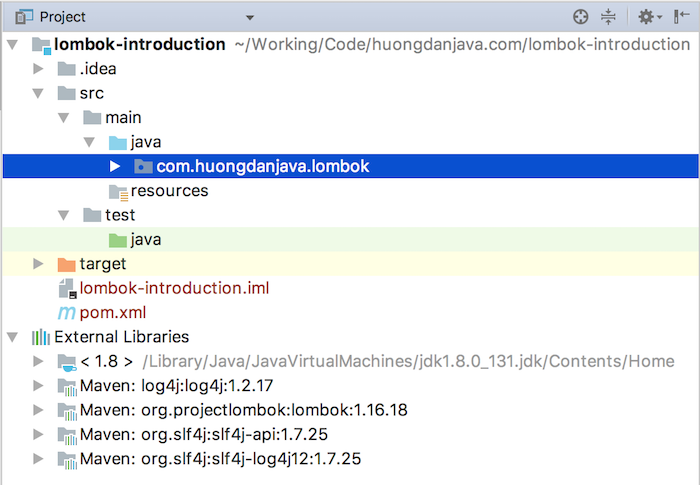 Using @Data annotation in Project Lombok