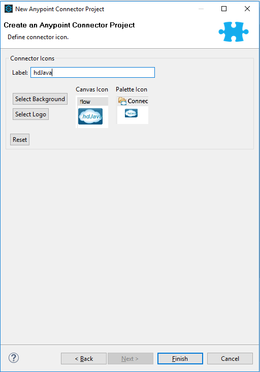 Create new Anypoint Connector Project using Anypoint Studio