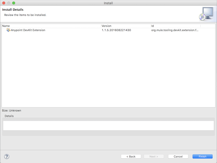 Install Anypoint Devkit Plugin in Anypoint Studio
