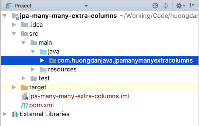 Many-many relationship with extra columns in JPA
