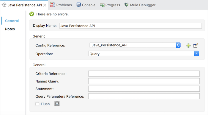 Using JPA in Mule ESB application