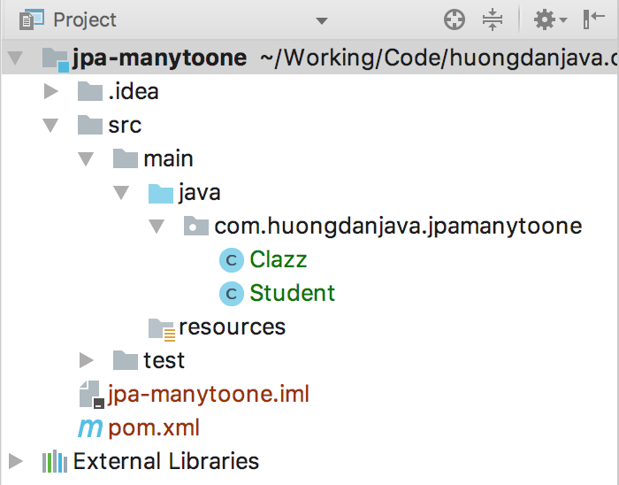 Using @ManyToOne annotation in JPA