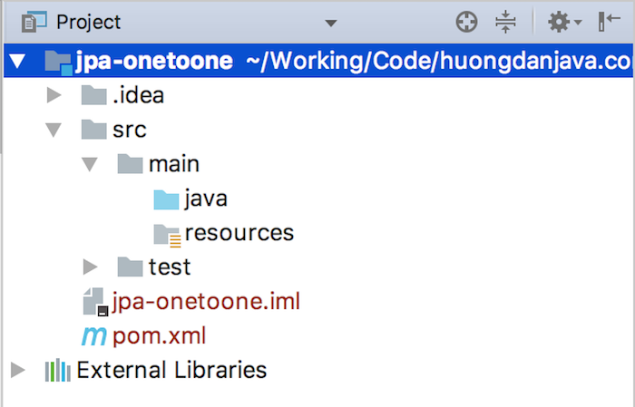 Using @OneToOne annotation in JPA
