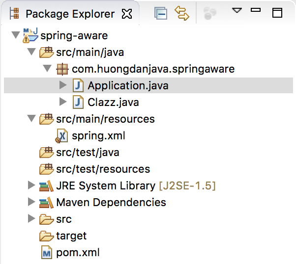 Using ApplicationContextAware and BeanNameAware in Spring
