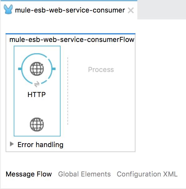 Consume SOAP Web Service using Web Service Consumer in Mule ESB