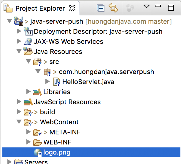 Learn about Server Push in Java