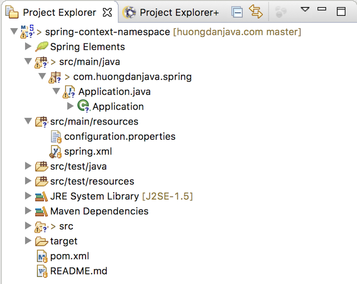 Read properties files in Spring using context namespace