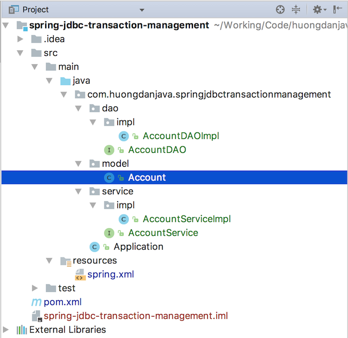 JDBC transaction management in Spring - Huong Dan Java