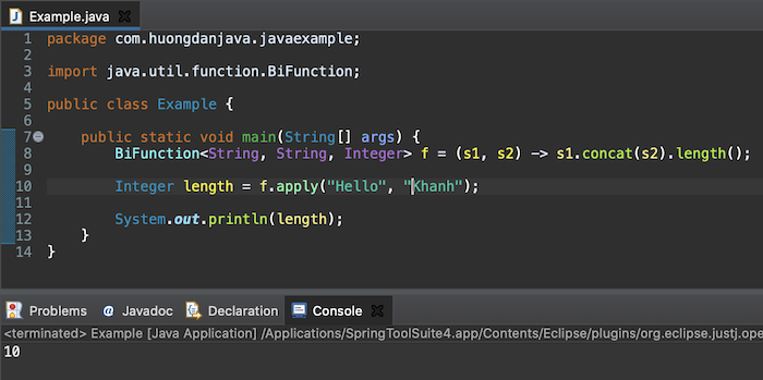 Learn about Function Functional Interface in Java