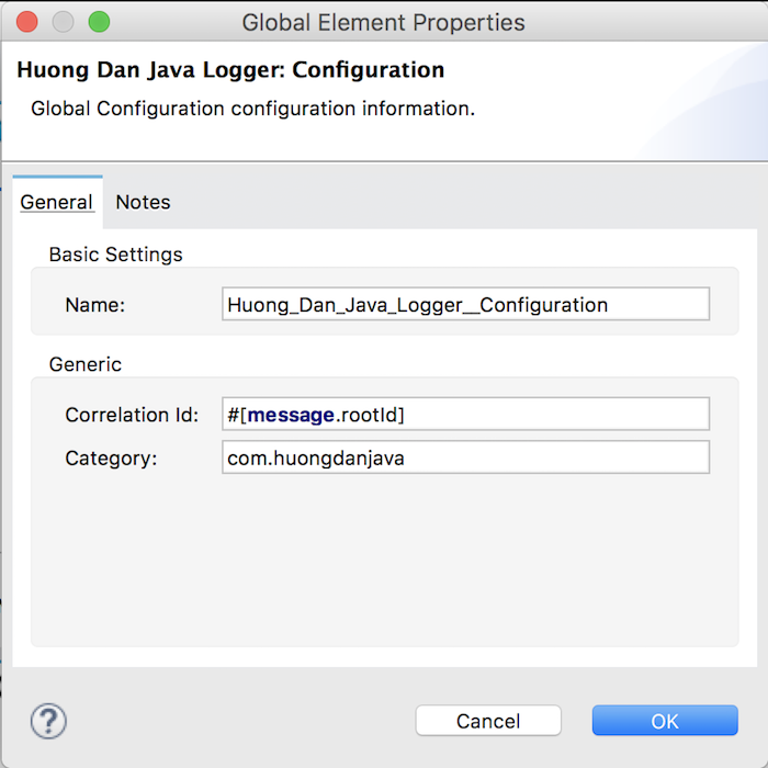 Huong Dan Java Logger – Part 10 - Return payload after logging