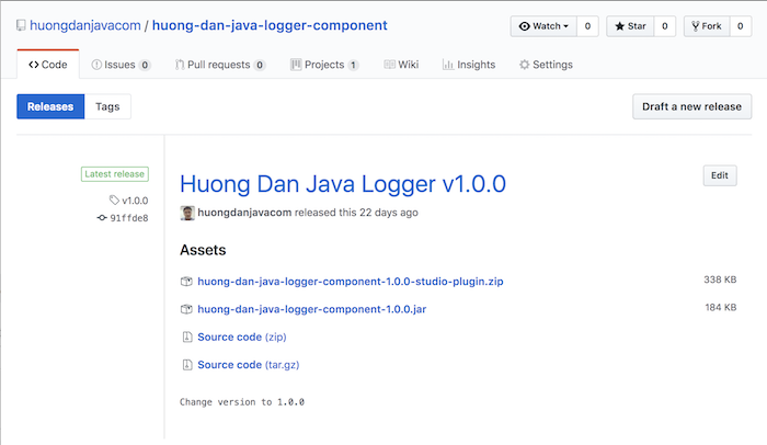 Huong Dan Java Logger - Part 12 - Install into Anypoint Studio