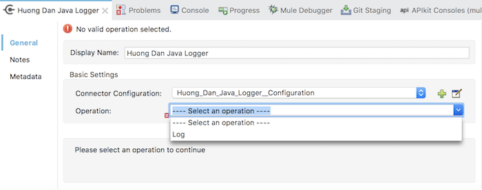 Huong Dan Java Logger - Part 5 - Add UI for main configuration