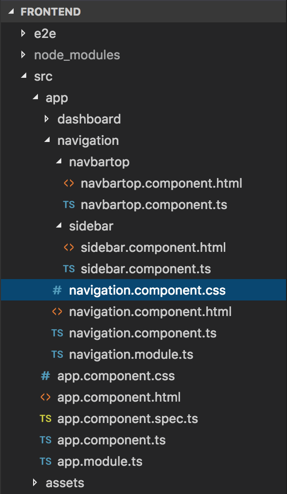 Questions Management - Frontend - Chia nhỏ template sử dụng Module, Component của Angular