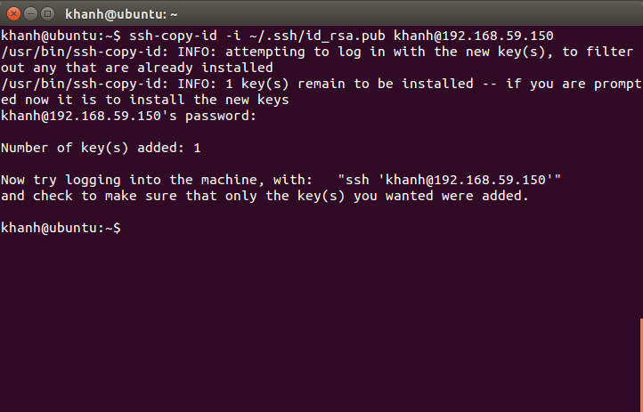 Login SSH without password