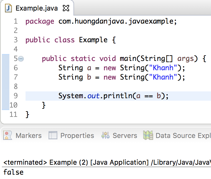 Learn about the String object in Java - Huong Dan Java