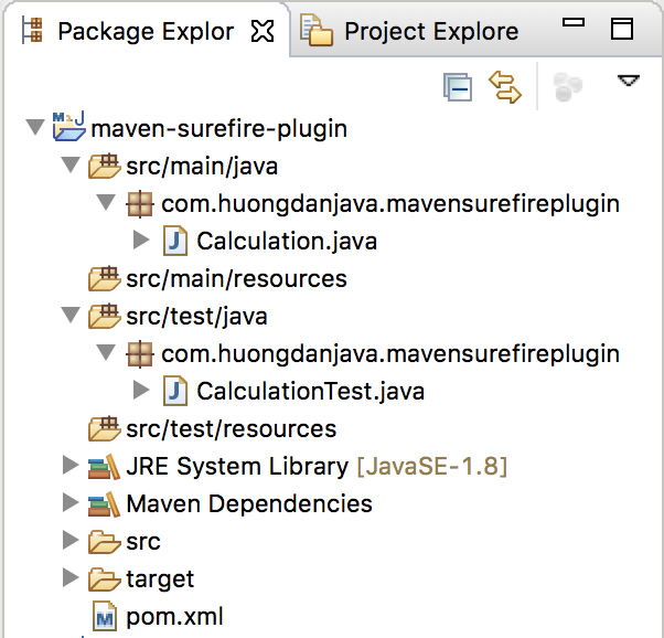 Run Unit Test with Maven Surefire Plugin