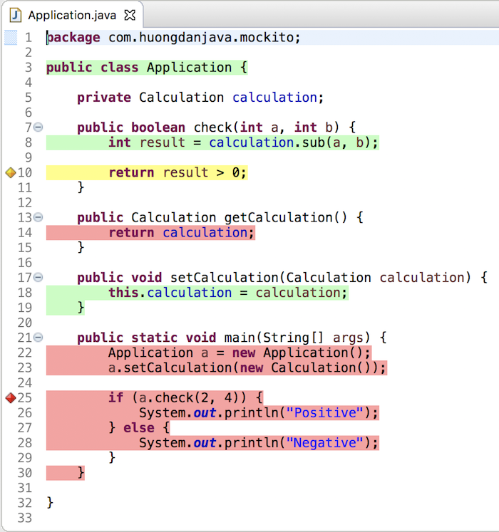 Install and use EclEmma, an Eclipse plugin for Java Code Coverage