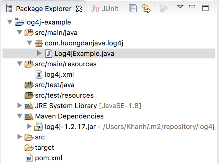 Overview about Log4j 1.x