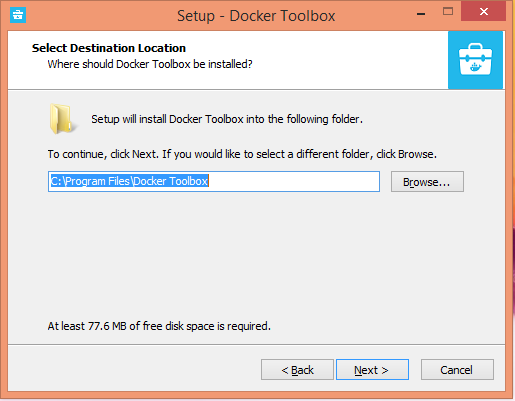 Install Docker on Window 8.1
