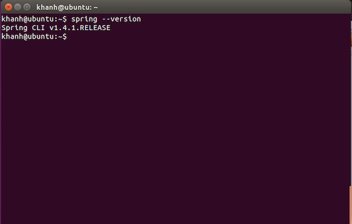 Install Spring Boot Command Line Interface on Ubuntu