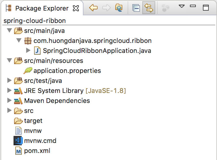 Load balancing using Ribbon and Eureka Server of Spring Cloud Netflix