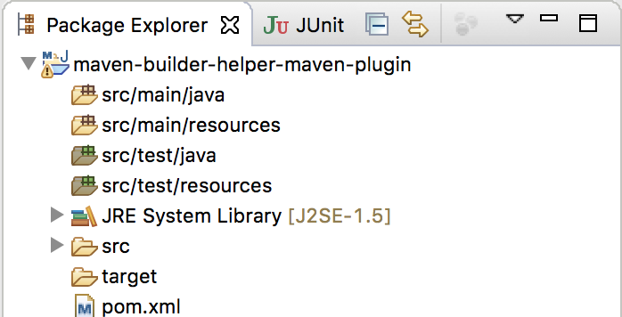 Add new source or resource directory to Maven project using Builder Helper Maven Plugin