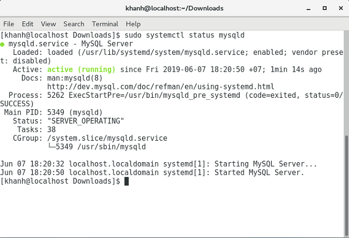 Install MySQL Community Server on CentOS 7