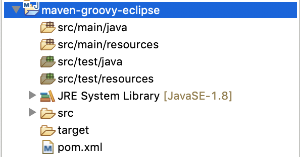 Compile code Groovy trong ứng dụng Java sử dụng Groovy Eclipse Maven plugin
