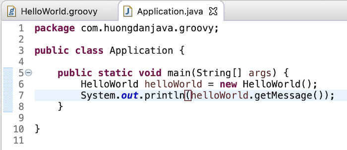 Compile Groovy code in Java application using Groovy Eclipse Maven plugin