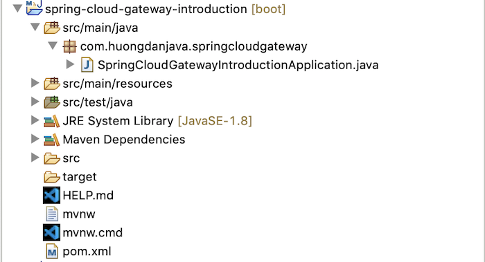 Build API Gateway using Spring Cloud Gateway