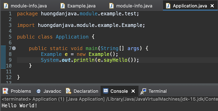 Introduction about Java Module System